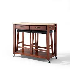 Crosley Furniture Kitchen Cart Kitchen Cart Cherry Wood Crosley Furniture Natural Best Island