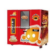 Fresh Pizza Vending Machine Interesting Electric Fresh Pizza Vending Machine Coin Automatic Global Sources