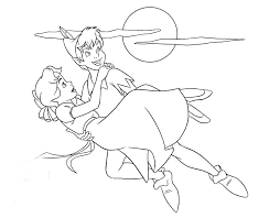 Immagini Peter Pan Disney Az Colorare