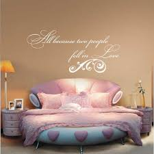 Love Wall Quotes Magnificent All Because Two People Fell in Love Wall Decal Anniversary Wall