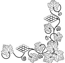 grapes clipart black and white. links | twelve grapes clipart black and white