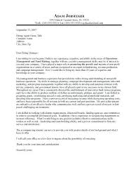 Cover Letter Executive Executive Director Cover Letter Sample Inside