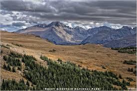 Alpine Park Alpine Tundra Ecosystem Of Rocky Mountain National Park Colorado