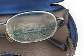 the good news is that both glass lenses and plastic lenses can be repaired when there is a scratch