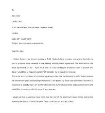 Lease Proposal Letter Mesmerizing Free Lease Extension Agreement Template An Buildingcontractorco