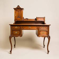 This so called Pfeiferl Baroque writing desk is constructed from spruce  wood with a