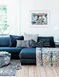 blue sofa living