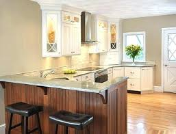 kitchen island overhang with peninsula seating area for stools countertop granite
