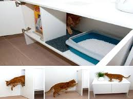 hidden cat box furniture. Disguised Litter Box Modern Cat Furniture Hidden Uk .