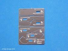 scroll saw labeled. rb productions micro saw blade set rb-t023 scroll labeled