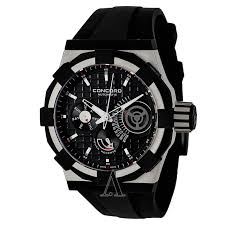 concord c1 0320054 men s watch watches concord men s c1 retrograde watch