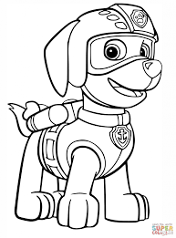 Paw Patrol Coloring Book How To Draw Pups For Kids Everest Walmart