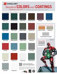 Englert Color Chart Roofingmaterials Roof Colors Metal