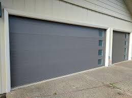modern garage door commercial. Modern Garage Door Installation With Side Windows Perfect Solutions Commercial N