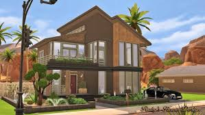 Small Picture Rubys Home Design Modern Industrial home Sims 4 Downloads