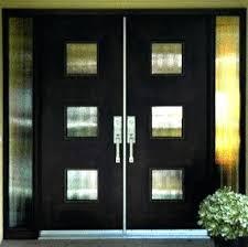 glass double door exterior. Double Front Doors With Glass Eye Catching Options For Your Door Contemporary Exterior N