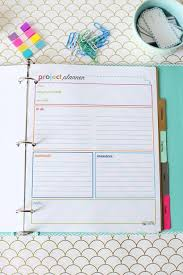 Daily Planner Printout Student Binder For Back To School With Free Printables