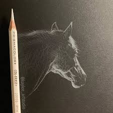 Ver más ideas sobre dibujos, dibujos para colorear, blanco y negro. Artista Crea Dibujos Minimalistas Con Lapiz Blanco Sobre Papel Negro