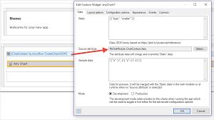 Any Chart Widgets Mendix 7 Reference Guide Mendix Documentation