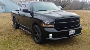 dodge ram 2014 black. Plain Dodge Mods On My 2013 Ram Black Edition Walkaround VHT Shade LEDS HIDS Lowered  Etc  YouTube With Dodge 2014