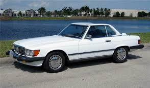 While it may look like it, this 560sl has never been restored. 1987 Mercedes Benz 560sl Roadster