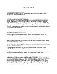 Care Worker Resume Resume Child Care Worker Demir Iso Consulting Co Objective