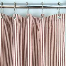 red stripe shower curtain image 0 red rugby stripe shower curtain