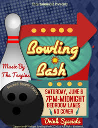 Bowling Event Flyer Template Bowling Bash Template Postermywall