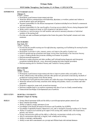 Nursery Nurse Sample Resume Rnnursery Resume Samples Velvet Jobs 3