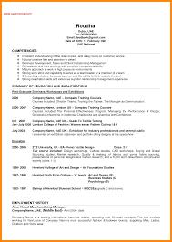 Sample Resume For Jobs In Retail Sidemcicek Com