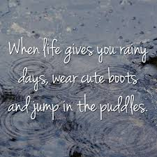 Beautiful Quotes On Rainy Day