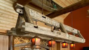 image of rustic light fixtures barn