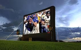 alltec screens inflatable outdoor projector screens