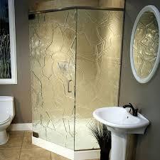 tempered glass shower doors