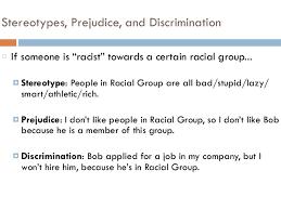 essays racial discrimination and prejudice mla essay cover letter essays racial discrimination and prejudice