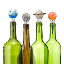 solar system glow in the dark bottle stoppers