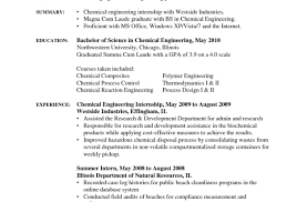 68 Resume Making Good Resumer Example