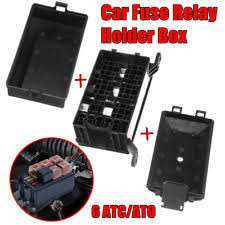 fuse relay box parts accessories universal auto car fuse box 6 relay socket holder insurance 6 atc ato fuses