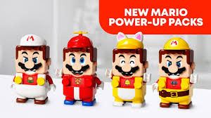 NEW <b>LEGO Super Mario</b> Power-Up Packs! - YouTube