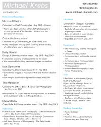 Photojournalist Resume Free Resume Example And Writing Download