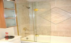 bathroom shower doors ideas. Image Of: Shower Veil Trackless Tub Doors Ideas Bathroom