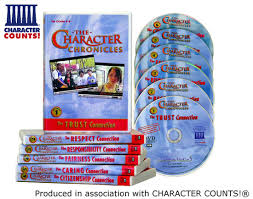 the character chronicles the six pillars of character middle the character chronicles the six pillars of character middle school dvds videos character counts