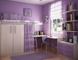 Purple Painted Bedroom Bedroom Sweet Teeny Decoration With Purple Wall Color Interior