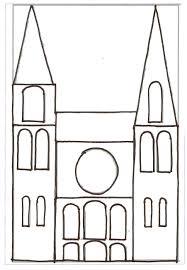 Catalogue La Cathedrale Chartres Dessin Reproduire Sur Rhodoid Et