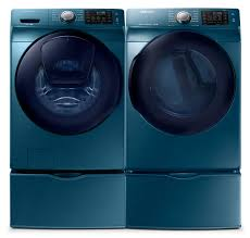 Best Price On Front Load Washer And Dryer Samsung 52 Cu Ft Front Load Washer And 75 Cu Ft Electric