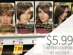 Printable coupon for $5.00 off. L Oreal Coupon I Heart Kroger