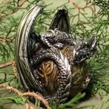 Emerald Forest Dragon SheDevil Myth Mystical Creature Beast ...