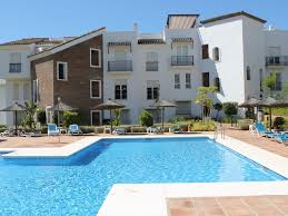luxury garden apartment in los arqueros golf country club marbella wifi