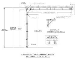 garage door cad drawings overhead door lift types for overhead door tracks