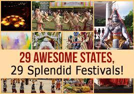 Photo Chart Of Indian Festivals 29 Awesome States 29 Splendid Festivals Paradise Holidays
